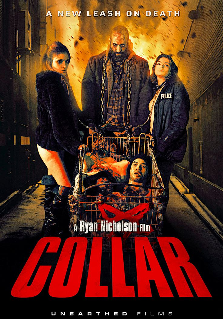 COLLAR DVD (UNEARTHED FILMS) in 2020 Film, Movies, Movie