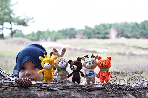 Мягкая вязаная игрушка Звери Зефирки. Животные, вязаные, амигуруми, крючком, подарок, игрушки, красивое, Природа, длиннопост