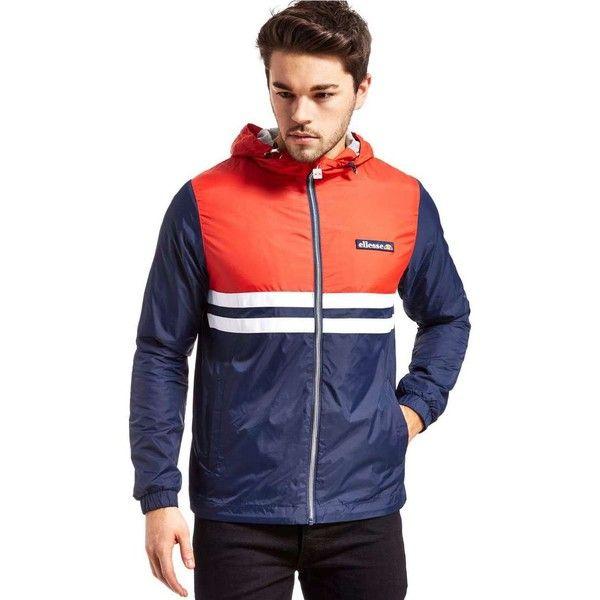 Ellesse Demtrio Jacket ($80) ❤ liked on Polyvore featuring men's fashion, men's…