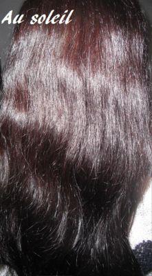 Soin naturel cheveux bruns
