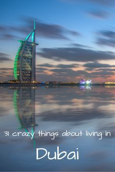 31 funny things new Dubai expats quickly get used to. Travelling to Dubai for a holiday can trick you into thinking it's all underwater hotels and record-breaking attractions, but life in the desert can be tough at times. It's one of the most famous cities in the world right now and Dubai's cultural mix and Middle East summer temperatures can make it a crazy place to live and work.