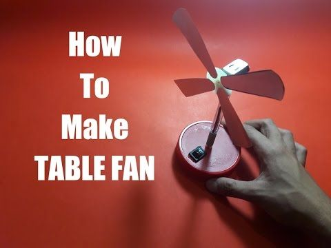 Hello friends !! Check out this latest video demonstrating how to make TABLE FAN with the help of waste materials in a very simple method at home.
