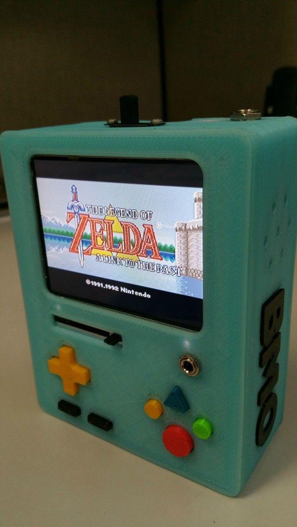 BMO emulador de Super Nintendo, de verdade!!   Nerd Da Hora