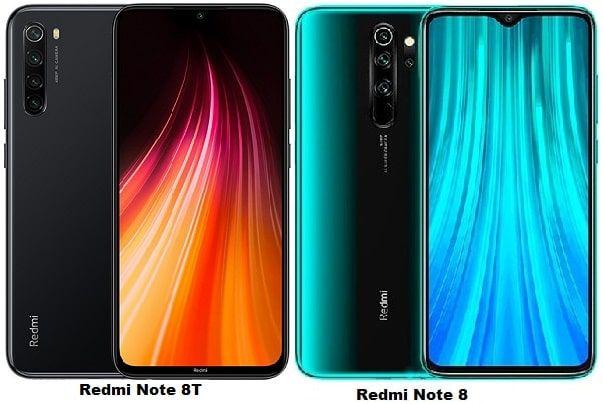 Xiaomi Redmi Note 8t Vs Xiaomi Redmi Note 8 Specs Comparison Galaxy Note 10 Galaxy Note Samsung Galaxy Note