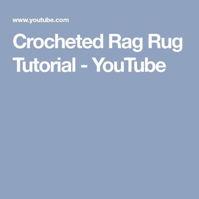 Youtube Rag Rug: Best 25+ Rag Rug Tutorial Ideas On Pinterest