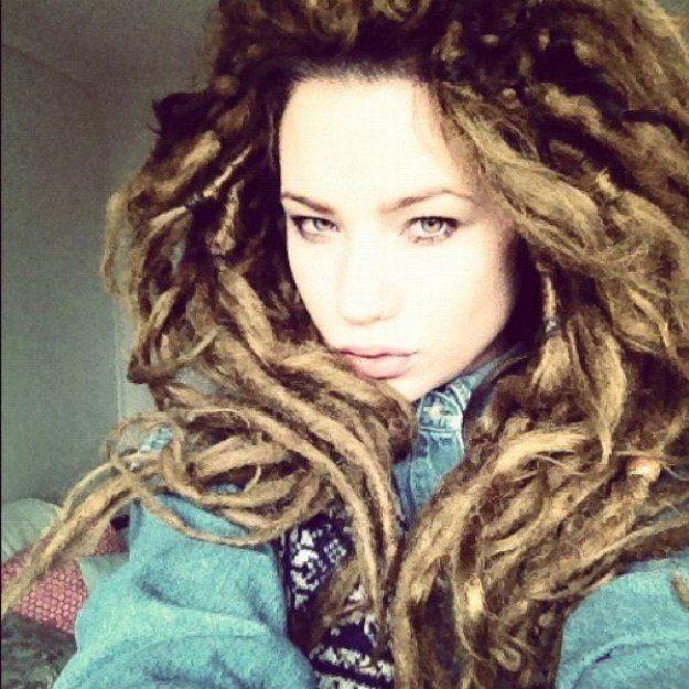25+ best ideas about Natural dreads on Pinterest | Long dreads ...