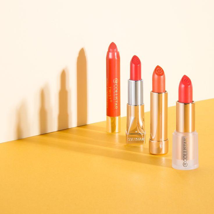 Il segreto per #labbra super #glamour da sfoggiare nei #weekend d'#estate? L'arancione! Esalta l'#abbronzatura delle pelli più scure e dona subito luce alle carnagioni più chiare!