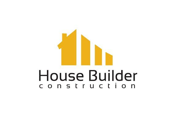 House Builder Logo Template  @creativework247