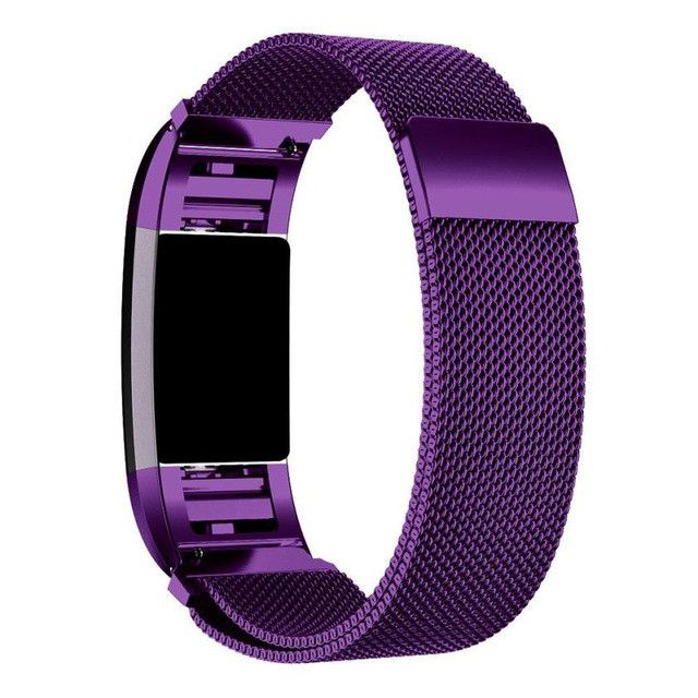 Superior Quality Milanese Stainless Steel Watch Band Strap Bracelet + HD Film For Fitbit Charge 2 OCT5