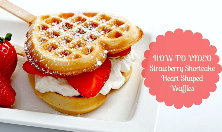 A deliciously easy strawberry shortcake waffle recipe made in just 7 minutes with our Holstein Housewares Heart Shaped Waffle Maker! Ingredients: – 1 1/2 lbs...