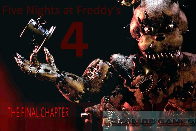 Five Nights at Freddys 4 PC Game Free Download setup in single direct link for Windows. Five Nights at Freddys 4 is an action horror game.  Five Nights at Freddys 4 PC Game 2015 Overview  Five Nights at Freddys is a strategy game that has been developed and published byScott Cawthon. This game was released on23rdJuly 2015. The game was earlier scheduled to be released on Halloween then it was rescheduled to be released on 8thof August but against all odds the five has been released earlier…