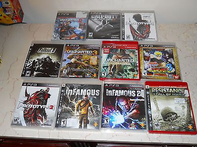 Playstion 3 Games Lot! Includes 11 Games! Black Ops 2, Uncharted and more! PS3 - http://videogamedevils.com/2014/03/01/playstion-3-games-lot-includes-11-games-black-ops-2-uncharted-and-more-ps3/