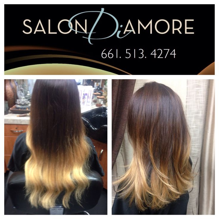 Color correction and haircut by @SalonDiAmore #ombre #creative #color #colorcorrection