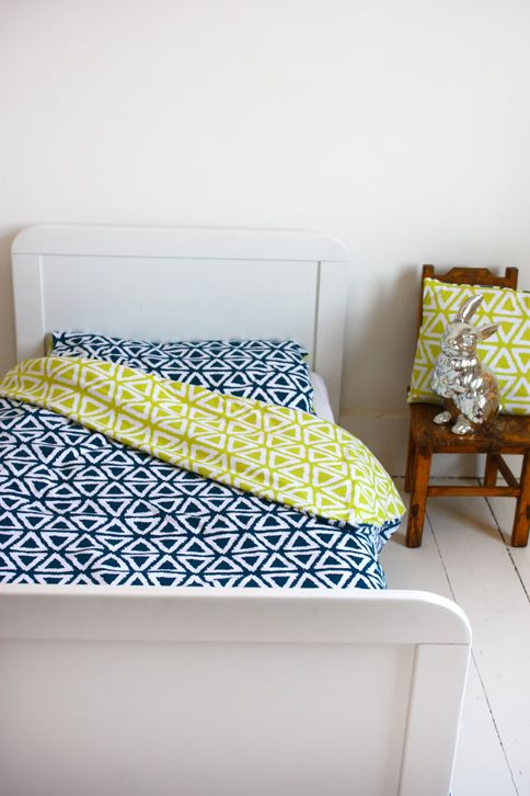 Junior / cot bed Duvet set - Children's Duvet cover and pillow case. The Bright Company, TBC