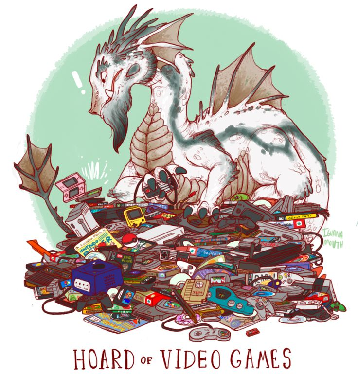 "Uncommon dragon hoards by Lauren Dawson ""So now I know what I would look like if I was a dragon and what my hoard would look like too!"""