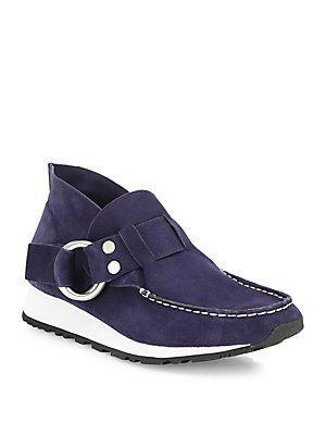 Derek Lam 10 Crosby Jules Suede Slip-On Chukka Sneakers