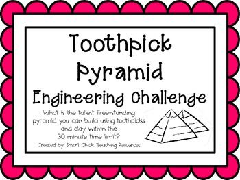 Toothpick Pyramid: Engineering Challenge Project ~ Great S