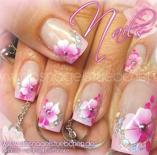 17 best ideas about airbrush nails on pinterest lace nail design wedding nails design and. Black Bedroom Furniture Sets. Home Design Ideas