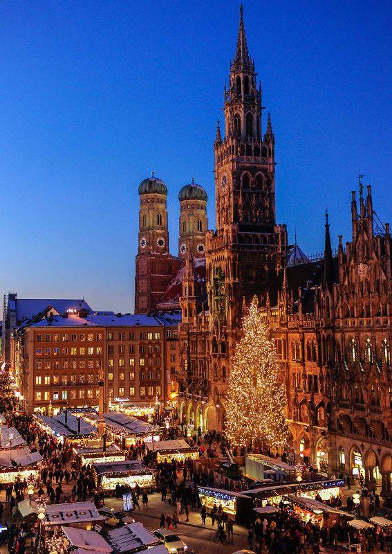 Pensieri in Viaggio: Ispirazioni: mercatini di Natale a Monaco di Baviera