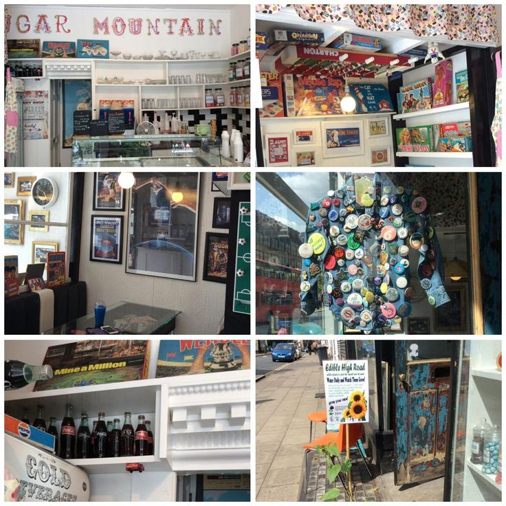 Sugar Mountain Traditional Sweet Shop & Ice Cream Parlour in Forest Hill. Take a trip down memory lane.