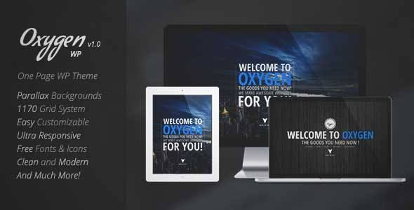Download and review of Oxygen - One Page Parallax WordPress Theme, one of the best Themeforest Creatives themes {Download & review at|Review and download at} {|-> }http://best-wordpress-theme.net/oxygen-one-page-parallax-download-review/