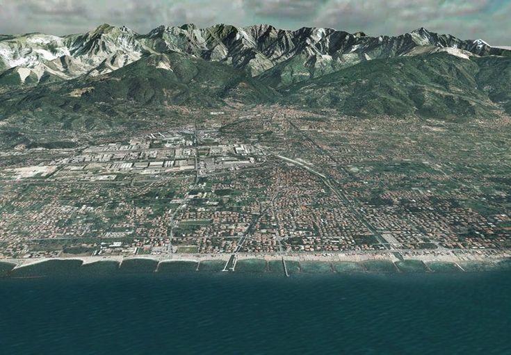 FlyThrough della Provincia di Massa Carrara, Carrara, 2007 - GeoInformatiX, Alberto Antinori