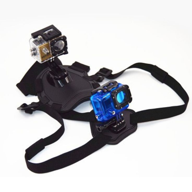 GoPro Fetch dog Mount Harness Chest Strap Belt Mount for Two Sport Gopro Camera Hero 4/3+/3/2/1/SJ4000 Accessories