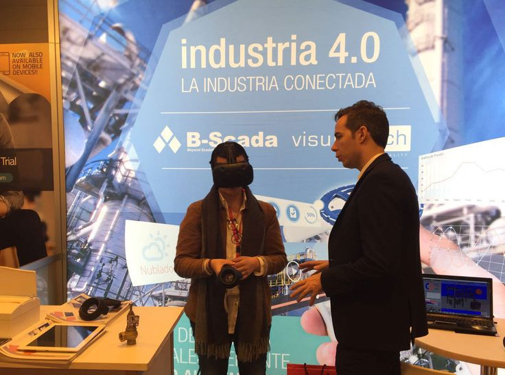 Discover the latest technology #VR #AR of Visuartech, visit The Stand F611 at #DES2016 #Madrid #Industry4.0