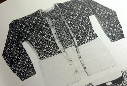 It started when I was flipping through the incomparable Sheila McGregor's Traditional Scandinavian Knitting, and came across this historical...