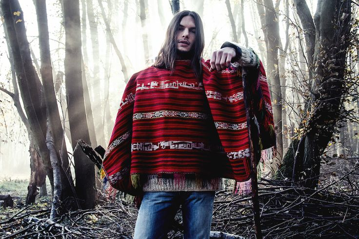 Poncho: http://retrock.com/collections/mens-sweats-hoodies/products/winter-style-knitted-vintage-pullover   Jeans: http://retrock.com/collections/mens-jeans-trousers/products/gucci-jeans
