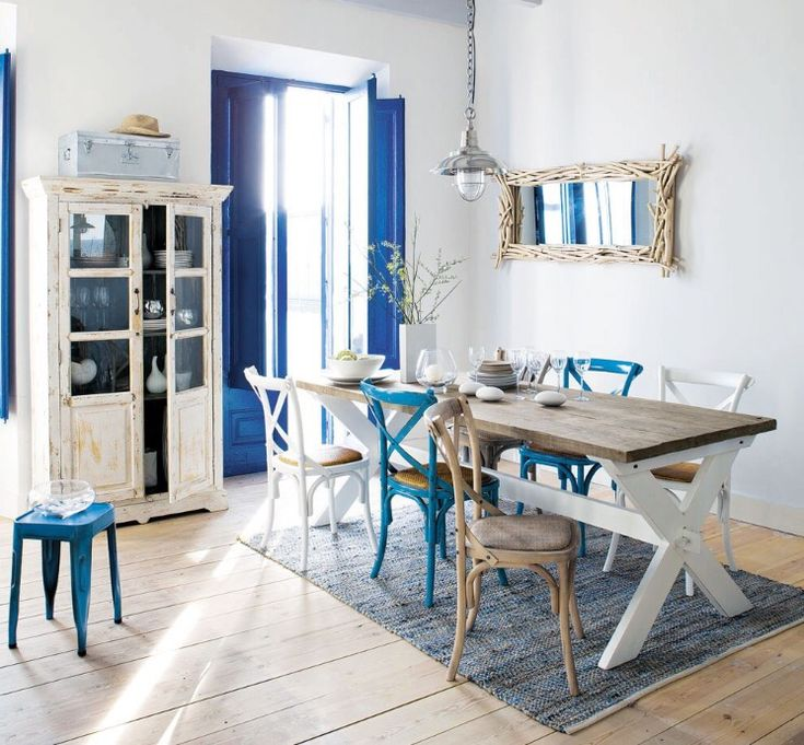 El color azul en decoración | Decorar tu casa es facilisimo.com