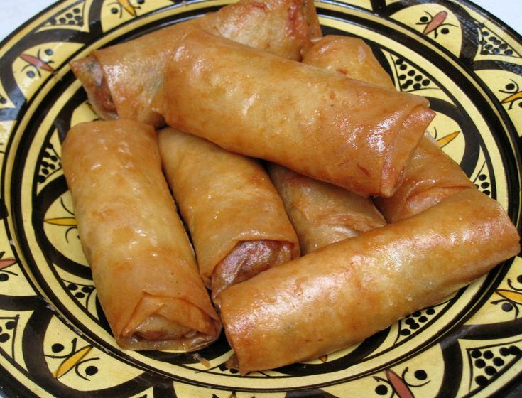 Moroccan Chicken Briouats - Like Eating a Bite-Sized Bastilla!