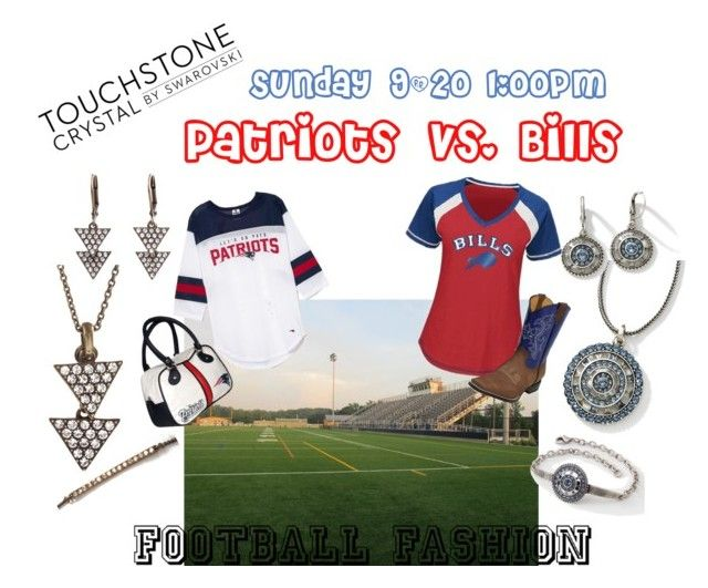 """""""Patriots vs. Bills 9/20"""" by michelle-mccue-clyde on Polyvore featuring Hartford and Touchstone Crystal"""