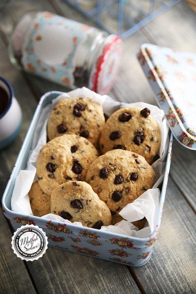 Fıstık Ezmeli Çikolatalı Kurabiye #cookie