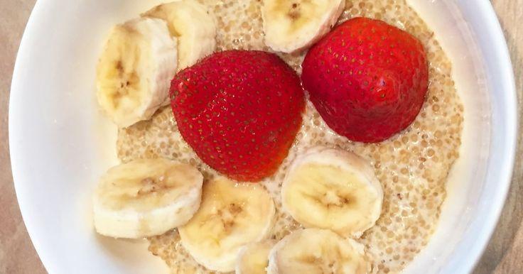 Quinoa Milchreis mit Bananen ✓ herrlich anders und überraschend gut ☆ Jetzt nachkochen!