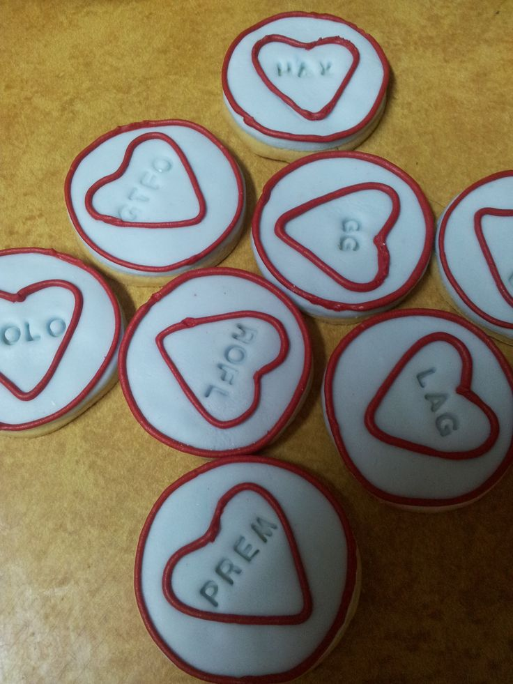 Sweetheart Cookies for computer gamers
