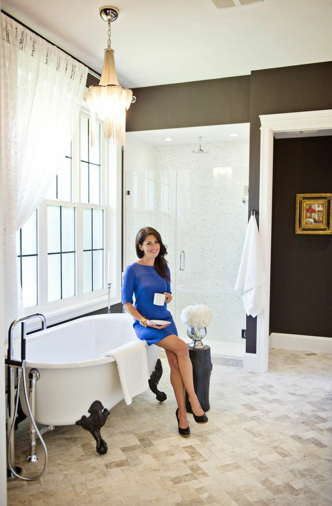 Love The Designer Jillian Harris And Decor Classic Black White Modern Classy Elegant