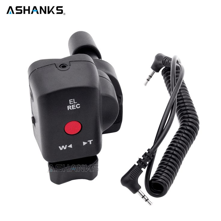 ASHANKS DSLR Camera Pro Zoom Control for Sony LANC A1C 150P Panasonic 180A 130AC DV ACC Remote Controller for Fotografica Video #Affiliate