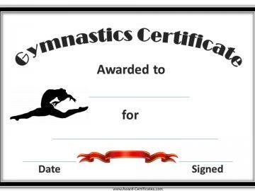Gymnastics Awards | Projects to Try | Gymnastics ...