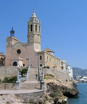 Sitges - Catalonia  The only spot in Spain I really liked.  Beautiful place.