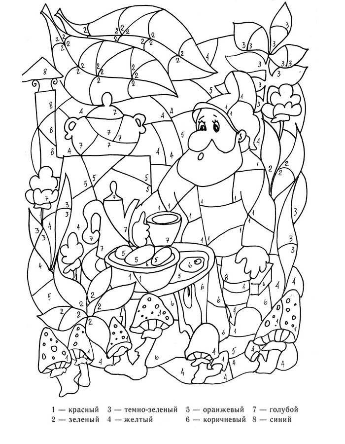 раскраски по цифрам для детей 5 7 лет распечатать картинки раскраска по цифрам раскраски бумажные бабочки