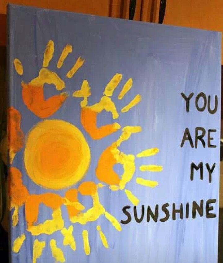 I neeeeeed to make this for C - you are my sunshine
