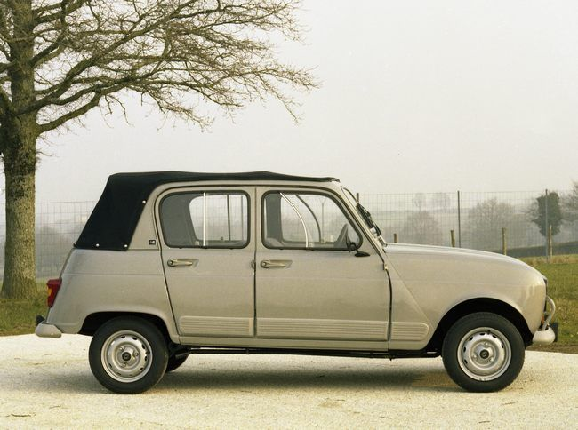 OG | 1981 Renault 4 Découvrable | Displayed by Heuliez. ✏✏✏✏✏✏✏✏✏✏✏✏✏✏✏✏ AUTRES VEHICULES - OTHER VEHICLES ☞ https://fr.pinterest.com/barbierjeanf/pin-index-voitures-v%C3%A9hicules/ ══════════════════════ BIJOUX ☞ https://www.facebook.com/media/set/?set=a.1351591571533839&type=1&l=bb0129771f ✏✏✏✏✏✏✏✏✏✏✏✏✏✏✏✏