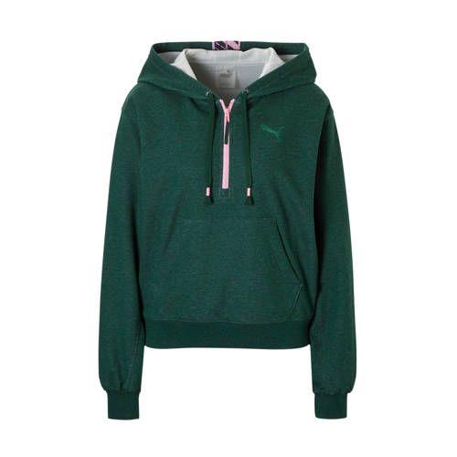 Puma sportsweater groen/roze | Trui, Trui vest, Sweater