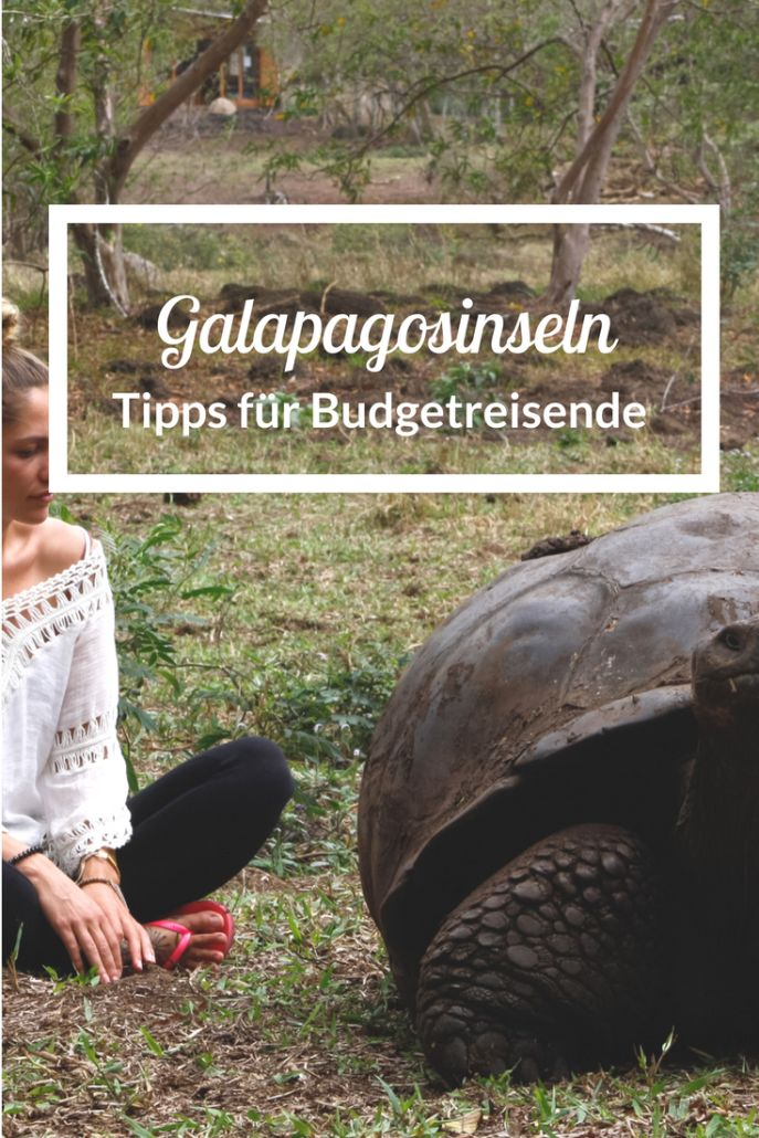 Sparen auf Galapagos