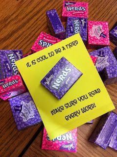 It's Cool to be a nerd. Make sure you read every word. - testing treat