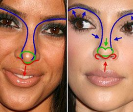 how to get a button nose without surgery