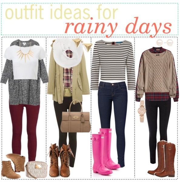 Rainy Day Outfits - Polyvore