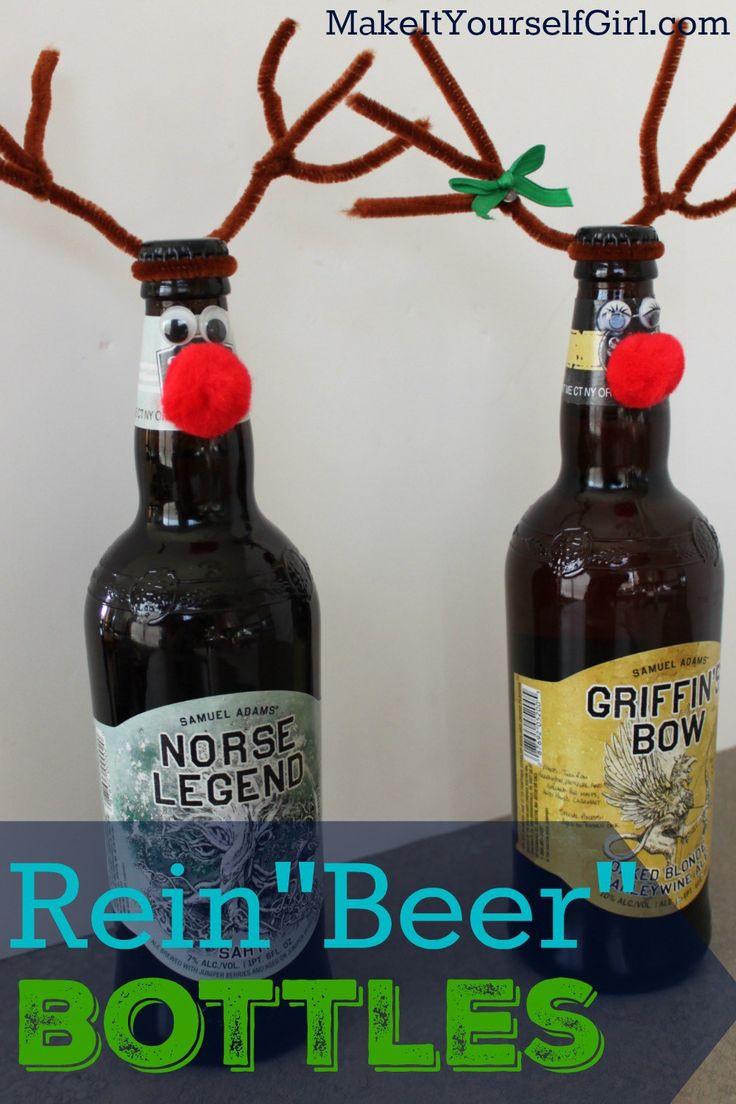 "Reindeer Bottle (or Rein""beer"")"