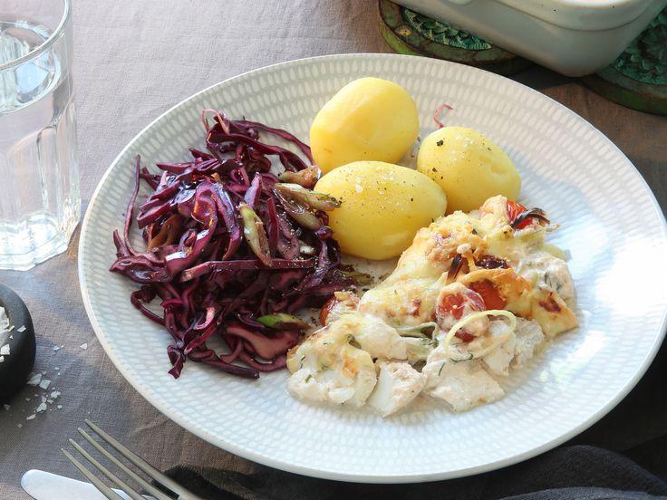Fiskgratäng med dill och citron | Recept från Köket.se